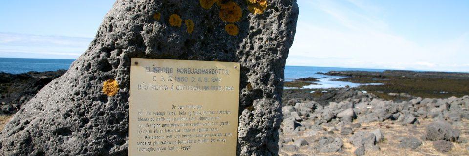 Írskra brunnur – Gufuskálavör