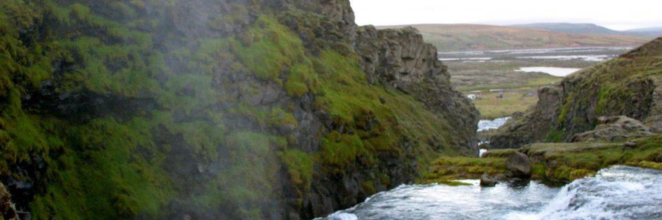Silfurfoss við Hólaskjól