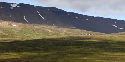 Strýta frá skíðasvæðinu Hlíðarfjalli
