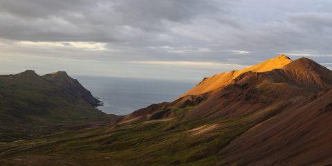 Borgarfjörður –  Brúnavík um Hofstrandarskarð